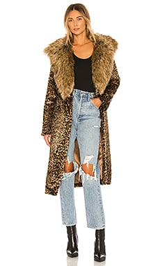 Minnelli Faux Fur Jacket Show Me Your Mumu $298 NEW ARRIVAL