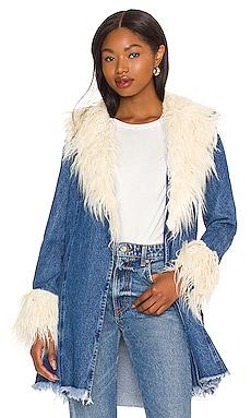Penny Lane Faux Fur Coat Show Me Your Mumu $198