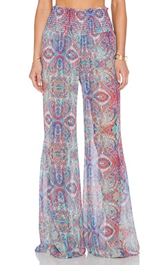 Show Me Your Mumu Roberts Party Pants in Great Barrier Reef
