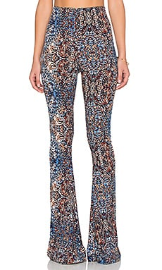 Show Me Your Mumu Bam Bam Bells Pant in Blue Bayou Spandy