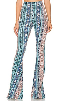 Bam Bam Bell Pants in Lucky Charmer Spandy