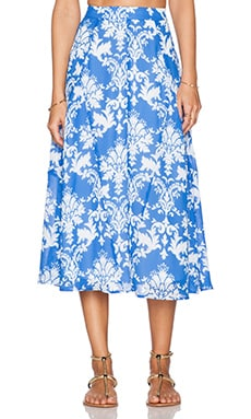 Show Me Your Mumu Tea Party Midi Skirt in Athena