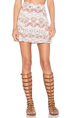 Show Me Your Mumu Slit Mini Skirt in La Quinta