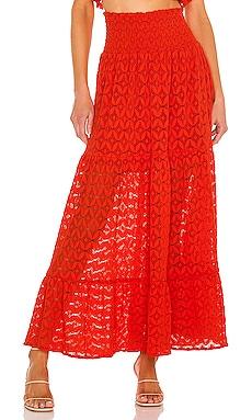 Melinda Maxi Skirt Show Me Your Mumu $178 NEW