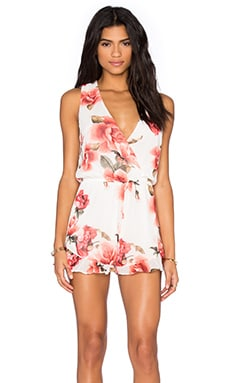 Show Me Your Mumu Riri Romper in Romuntic Rose