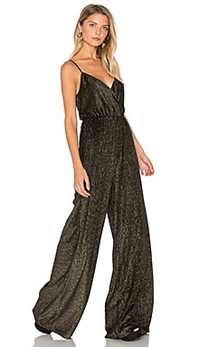 Jagger Jumpsuit in Golden Glam