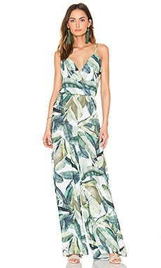 Jagger Jumpsuit in Banana Leaf
