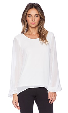 Show Me Your Mumu Jade Blouse in White