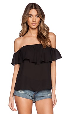 Show Me Your Mumu Chiquita Top in Black Crisp