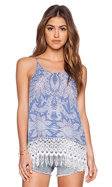 Show Me Your Mumu Trim Top in Magic Carpet Ride