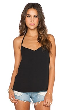 Show Me Your Mumu Andi Top in Black Crisp