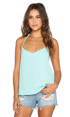 Show Me Your Mumu Andi Top in Ocean Crisp