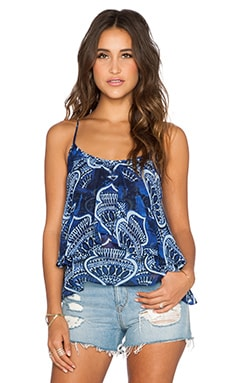 Show Me Your Mumu Jodi Rae Ruffle Tank in Genie In A Bottle