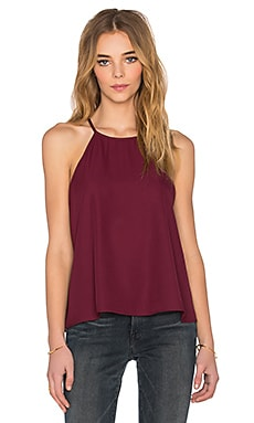 Show Me Your Mumu Selena Top in Merlot Crisp