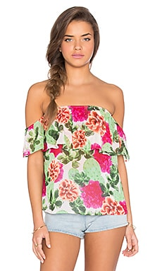Show Me Your Mumu Chiquita Top in Cactus Bloom
