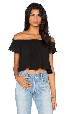 Show Me Your Mumu Tamale Top in Black Crisp