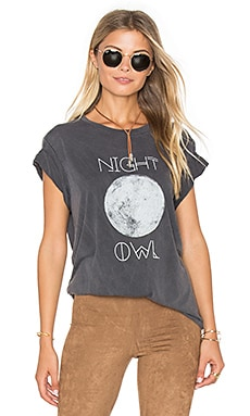 Oliver Tee in Night Owl Graphic