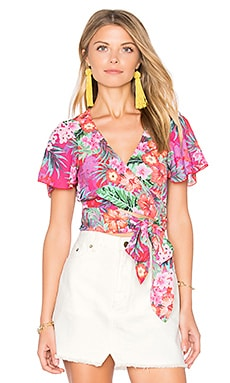 Wilson Tie Top in Aloha Beautiful