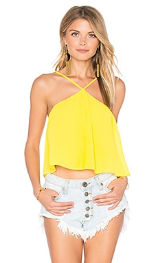 Lex Top in Daffodil Chiffon