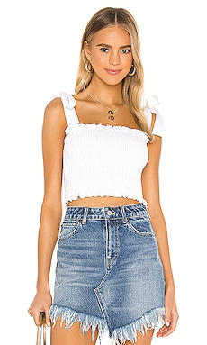 Antoinette Smocked Top Show Me Your Mumu $114