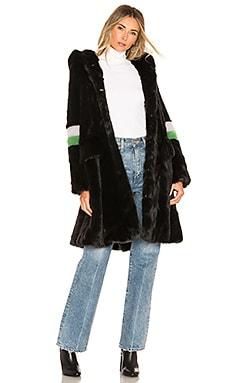 Heidi Faux Fur Coat Shrimps $359