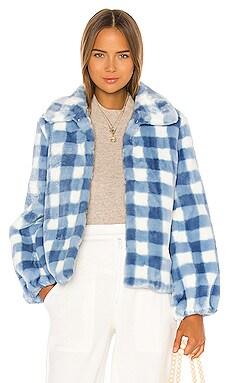 Cullen Faux Fur Jacket Shrimps $625