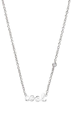 Shy by Sydney Evan Cool Necklace in Sterling Silver
