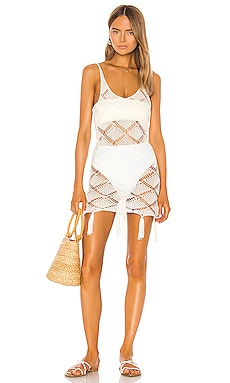 x REVOLVE Bell Dress Shaycation $93