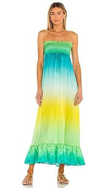 Marcia Dress Silk Roads by Adriana Iglesias $245