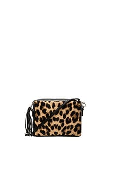 Simone Camille Bowie Crossbody in Jaguar Print