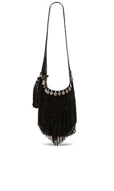 Simone Camille Studded Bucket Bag in Black