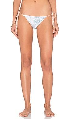 Sinesia Karol Beth Bikini Bottom in Dreamy Blooms Turquoise