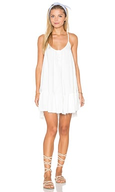 Rosa Cross Strap Dress in White