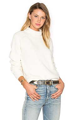 Reims Turtleneck Sweater in Ivory