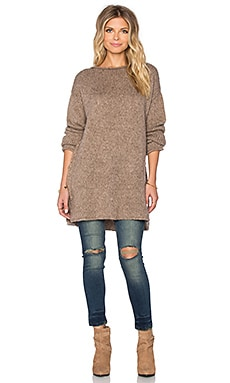 Sincerely Jules Paige Chunky Sweater in Taupe