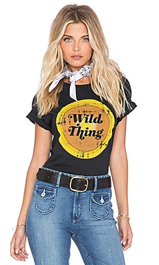 Sincerely Jules SU2C x REVOLVE Wild Thing Tee in Vintage Black