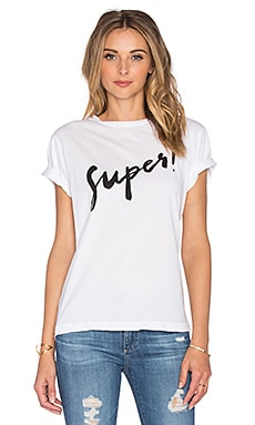 Sincerely Jules Super Tee in White