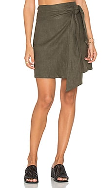 Cheyne Wrap Skirt