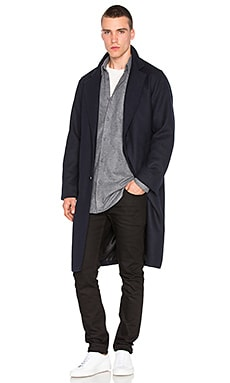 Superism Teagan Coat in Navy
