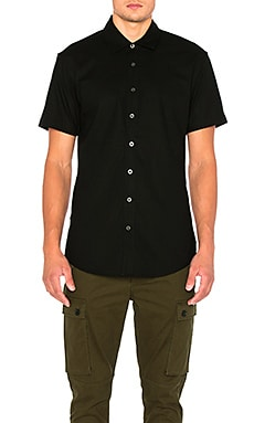 Superism Addison Button Down in Black