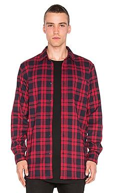 Superism Jace Button Down in Red