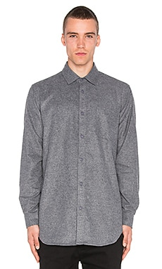 Superism Judah Button Down in Charcoal