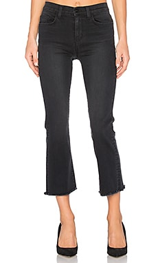 Emmanuelle Crop Flare Jean in Moon Of Alabama
