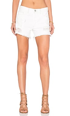 Avery Boy Short in Crystal Vision
