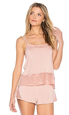 Lace Cami in Antique Rose