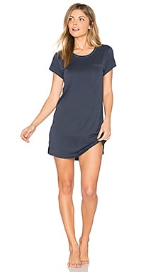 Sleep Dress Tee en Anchor Blue