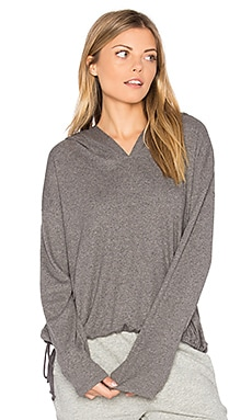 Hoodie in Charcoal Heather
