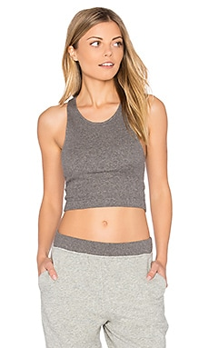 Thea Bralette in Charcoal Heather