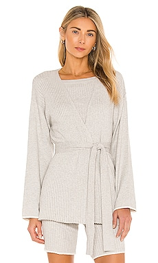 Marissa Cotton Cashmere Cardigan Skin $250