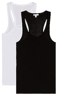 Pima Tank 2 Pack Skin $120 NEW
